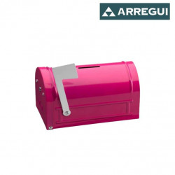 Tirelire mail ARREGUI - C-9702 - Rose - 93x152x83mm