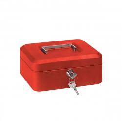 Caisse à monnaie ARREGUI Elegant - C-9214 - Rouge - 80x152x118mm