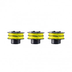 Lot de 3 bobines double fil RYOBI diamètre 1.2mm RAC119