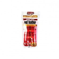 Mini rouleaux patte de lapin 11,5cm x 6mm red feather Jumbo-koter Wooster RR311 4-1/2 x2