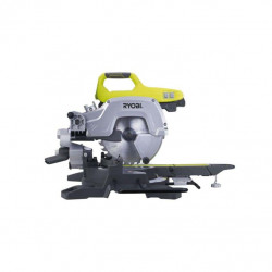 Scie à coupe d'onglets radiale stationnaire RYOBI 1500W 216mm EMS216LSG