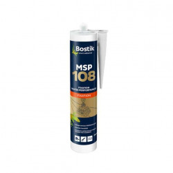 Mastic Bostik MSP 108 Polymères blanc de fixation hautes performances x5