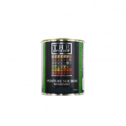 Peinture sur bois Little Shop Of Colors Gris Black Hat 500ml