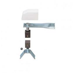 Pivot de portail 45 x 45 mm pour tube carré 50 x 50 mm Klose Besser