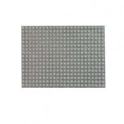 Plaque de 408 butées adhésives 3M SJ5302 transparentes H2.2 x D7.9mm