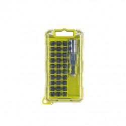 Coffret RYOBI 30 accessoires de vissages spécial impact RAK31SDI