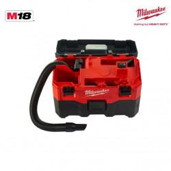 Aspirateur de chantier MILWAUKEE M18 VC-2 sans batterie ni chargeur 4933464029