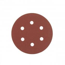 Kit 5 disques abrasifs AEG grain 120 150mm 4932430457