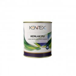 Laque satinée polyuréthane aqueuse KENITEX Kenlak PU Satin - blanc - 0,75L