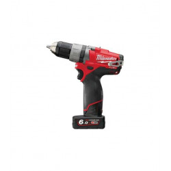 Perceuse visseuse Milwaukee FUEL M12 CDD-602X 12V Li-Ion 6.0Ah 49334451508