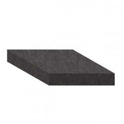 Mousse de filtration PPI-20 noire 1.5x1m épaisseur 20mm