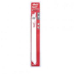 Pack de 5 lames de scie sabre bi-metal/co 230 mm MILWAUKEE SAWZALL 18 TPI 48005188