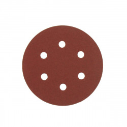 Kit 5 disques abrasifs AEG grain 80 150mm 4932430456