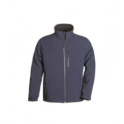 Veste Softshell bleue marine Yang Coverguard taille XXL