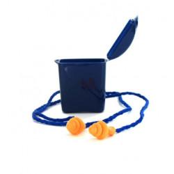 Boite de 50 paires de bouchons d'oreilles avec cordons 3M 1271