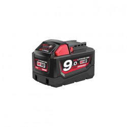 Batterie Milwaukee M18 B9 RedLithium Li-Ion 18V 9.0Ah 4932451245