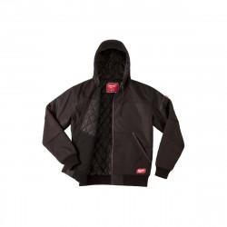 Blouson noir à capuche Milwaukee WGJHBL Taille XXL 4933459439