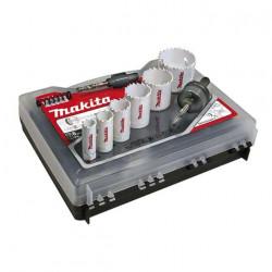 Coffret 6 scies cloches bi-métal MAKITA électricité