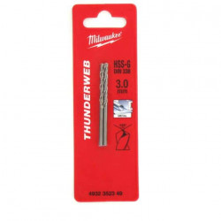 Pack de 2 Forets métal MILWAUKEE HSS-G THUNDERWEB 3.0 X 61MM 4932352349