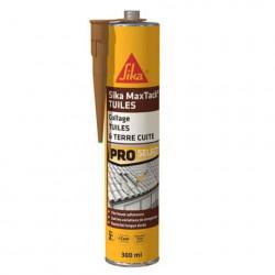 Colle souple pour réparation et collage de tuiles SIKA Maxtack Tuiles - Terre cuite - 300ml