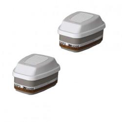 Filtres antigaz et anti-poussières 3M 6098 AXP3R x 2