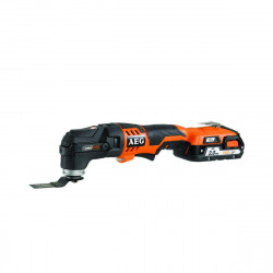 Outil multifonctions Multi tool AEG 18V - 2 batteries 2.0Ah et chargeur 40 minutes OMNI 18CLI-202BKIT1X