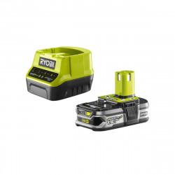 Pack batterie RYOBI 18V OnePlus 1.5Ah LithiumPlus et chargeur rapide 2.0Ah RC18120-115