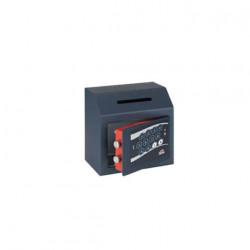Coffre fort dépôt combinaison électronique digitale motorisée ouverture retardée série 680AR stark 680AR 250x250x150mm