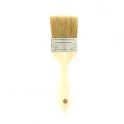 Pinceau à laquer 60 mm manche en bois