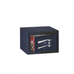 Coffre fort mobile monolithique serrure à clef combinaison trois cadrans série 340 stark 344 420x284x370mm