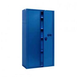 Armoire de sécurité serrure à clef combinaison à disques série AS190 stark AS194K 1000x1000x500mm