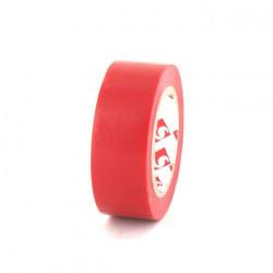 Ruban adhésif 15 mm PVC électrique Scapa 2702 rouge x 5