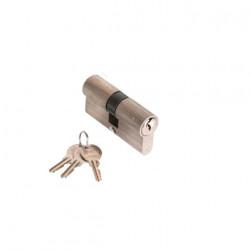 Cylindre nickelé 30 x 40 mm avec 3 clés Klose Besser