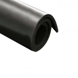 Feuille caoutchouc néoprène toile 100x140cm épaisseur 5mm