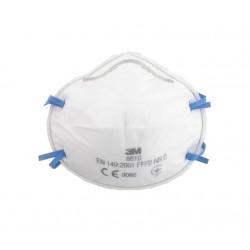 Masque 3M 8810 anti-poussières FFP2 sans soupape x 20