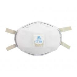 Masque 3M 8825 anti-poussière FFP2 avec soupape x 5