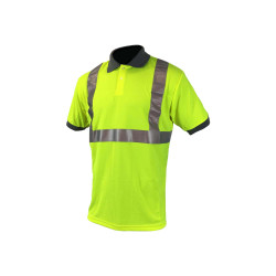 Polo haute visibilité COVERGUARD - jaune fluo - Taille 3XL