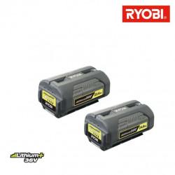 Pack RYOBI batterie 36V Lithium Plus 2,6Ah BPL3626D - batterie 36V 4,0Ah lithium-ion BPL3640D