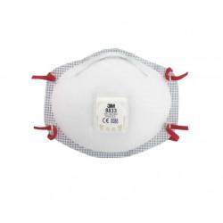 Masque 3M 8833 anti-poussière FFP3 avec soupape x 5