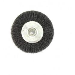 Brosse circulaire acier diamètre 100 mm x 10