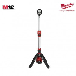 Projecteur trépied MILWAUKEE M12 SAL-0 - sans batterie ni chargeur 4933464823