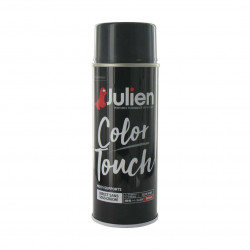 Peinture aérosol Julien Color Touch brillant - Gris anthracite - 400 ml