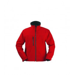 Veste Softshell rouge Yang Coverguard taille XL
