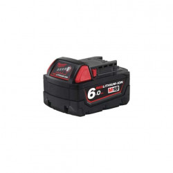 Batterie Milwaukee M18 B6 RedLithium-Ion 18V 6.0Ah 4932451244