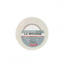Double face Mousse blanc SCAPA 5464 19mm x 10m