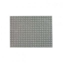 Plaque de 408 butées adhésives 3M SJ5302 transparentes H2.2 x D7.9mm x 5