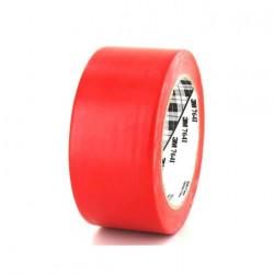Ruban adhésif vinyle 3M 764 rouge 50mm