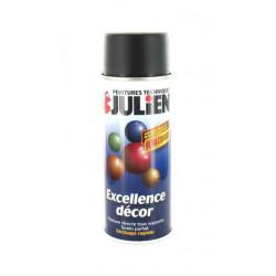 Peinture aérosol Julien noir satine 400ml