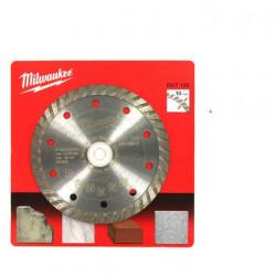 Disque diamant universel MILWAUKEE DUT diamètre 125mm coupe turbo 4932399527