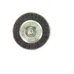 Brosse circulaire acier diamètre 75 mm x 10